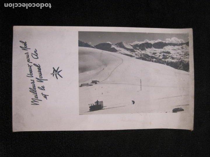 REFUGIO DE ENVALIRA-FOTOGRAFIA ANTIGUA-CIRCULADA-VER FOTOS-(K-1949) (Postales - Postales Extranjero - Europa)