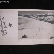 Postales: REFUGIO DE ENVALIRA-FOTOGRAFIA ANTIGUA-CIRCULADA-VER FOTOS-(K-1949). Lote 244417515