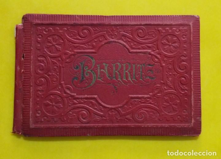 BIARRITZ BLOCK DE 14 GRAFICOS DE PAISAJES TURÍSTICOS, CIRCA 1900 (Postales - Postales Extranjero - Europa)