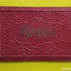 Postales: BIARRITZ BLOCK DE 14 GRAFICOS DE PAISAJES TURÍSTICOS, CIRCA 1900. Lote 244606740