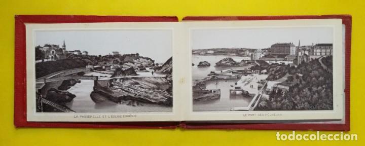 Postales: BIARRITZ BLOCK DE 14 GRAFICOS DE PAISAJES TURÍSTICOS, CIRCA 1900 - Foto 3 - 244606740