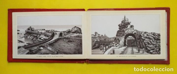 Postales: BIARRITZ BLOCK DE 14 GRAFICOS DE PAISAJES TURÍSTICOS, CIRCA 1900 - Foto 4 - 244606740