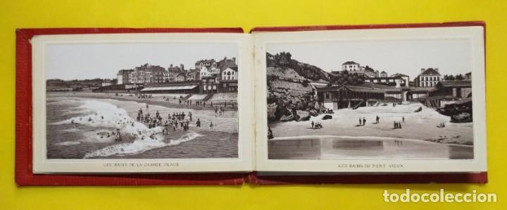Postales: BIARRITZ BLOCK DE 14 GRAFICOS DE PAISAJES TURÍSTICOS, CIRCA 1900 - Foto 5 - 244606740
