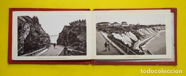 Postales: BIARRITZ BLOCK DE 14 GRAFICOS DE PAISAJES TURÍSTICOS, CIRCA 1900 - Foto 7 - 244606740