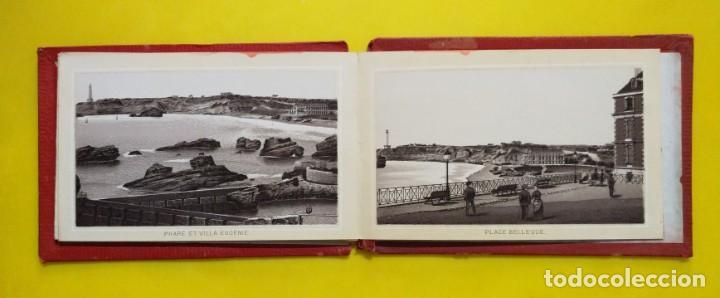 Postales: BIARRITZ BLOCK DE 14 GRAFICOS DE PAISAJES TURÍSTICOS, CIRCA 1900 - Foto 8 - 244606740
