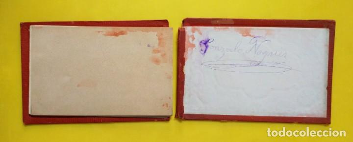 Postales: BIARRITZ BLOCK DE 14 GRAFICOS DE PAISAJES TURÍSTICOS, CIRCA 1900 - Foto 11 - 244606740