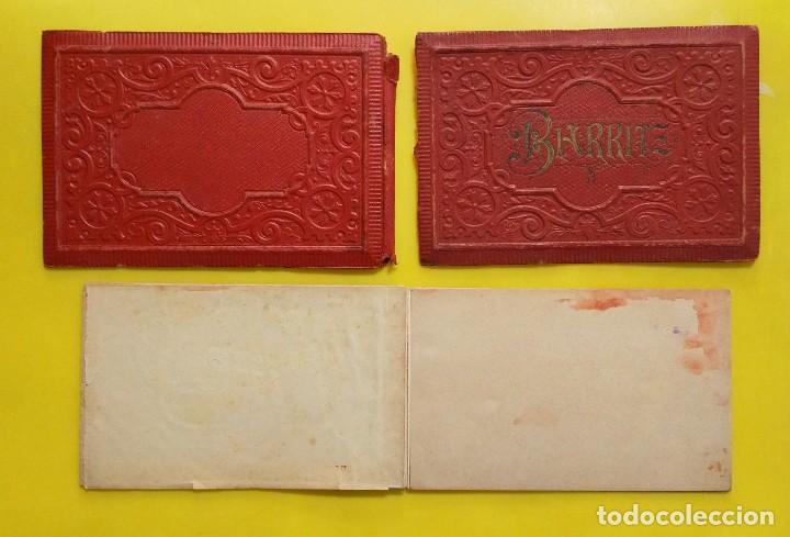 Postales: BIARRITZ BLOCK DE 14 GRAFICOS DE PAISAJES TURÍSTICOS, CIRCA 1900 - Foto 13 - 244606740