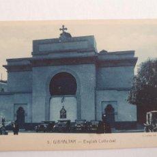 Cartes Postales: GIBRALTAR - CATEDRAL INGLESA - P47050. Lote 244694085