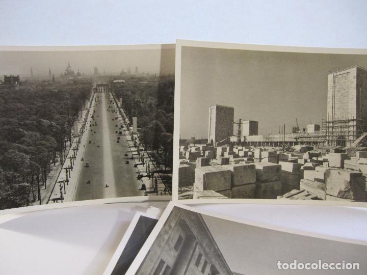 Postales: 12 POSTALES ARQUITECTURA NAZI. ALEMANIA. 10,5 X 15 CM - Foto 2 - 244714590