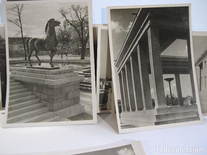 Postales: 12 POSTALES ARQUITECTURA NAZI. ALEMANIA. 10,5 X 15 CM - Foto 3 - 244714590