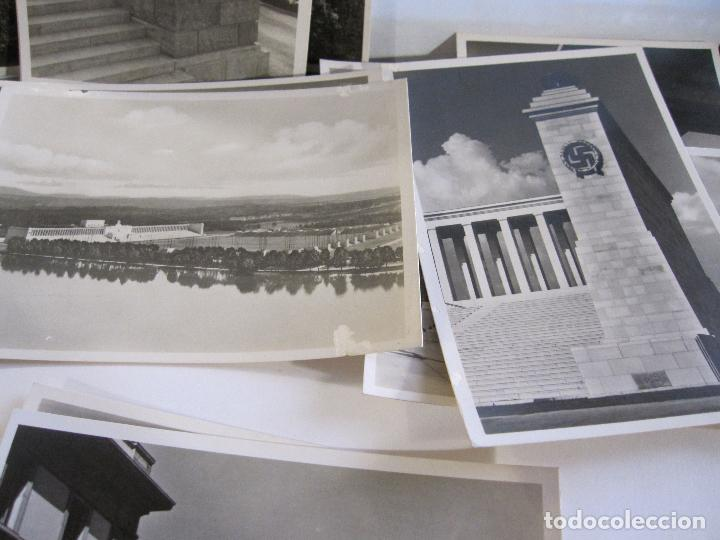Postales: 12 POSTALES ARQUITECTURA NAZI. ALEMANIA. 10,5 X 15 CM - Foto 7 - 244714590