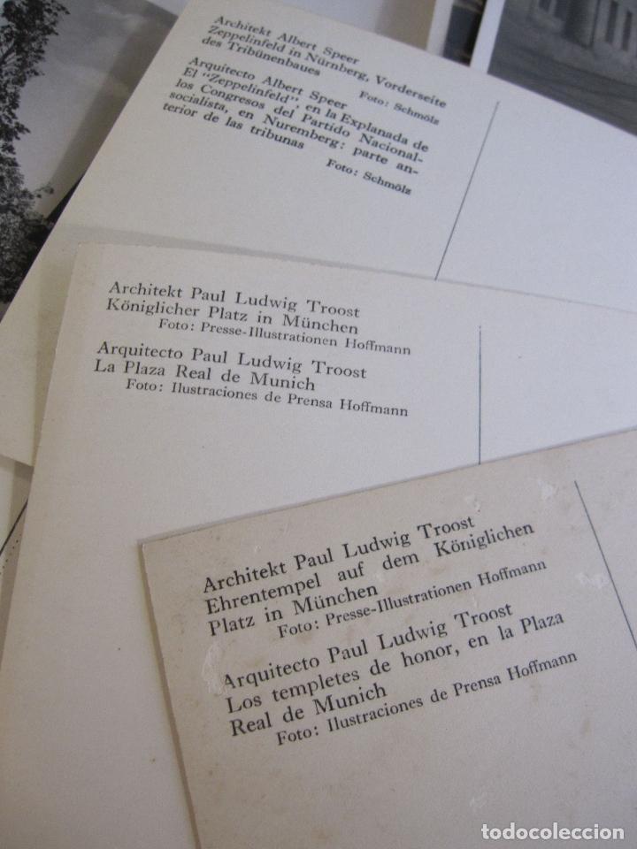 Postales: 12 POSTALES ARQUITECTURA NAZI. ALEMANIA. 10,5 X 15 CM - Foto 8 - 244714590