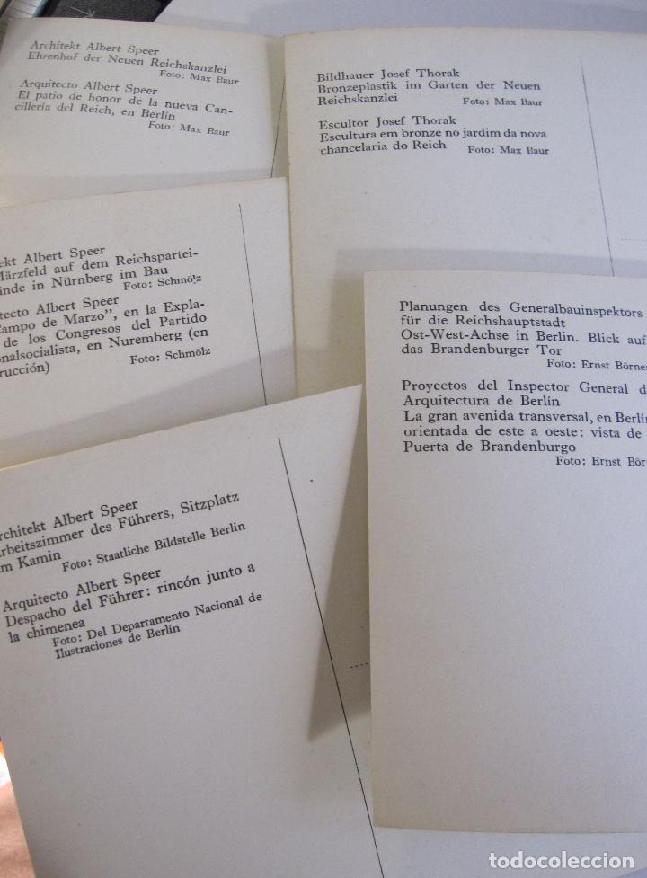 Postales: 12 POSTALES ARQUITECTURA NAZI. ALEMANIA. 10,5 X 15 CM - Foto 10 - 244714590