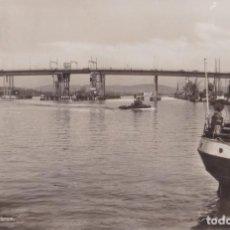 Postales: SUECIA, GOTEBORG, GÖTAÄLVBRON - AKTA FOTOGRAFI – ESCRITA 1948. Lote 244750425