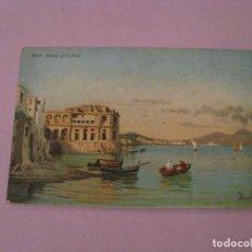 Postales: ANTIGUA POSTAL DE ITALIA. NAPOLI. PALAZZO DONN'ANNA.. Lote 245297890