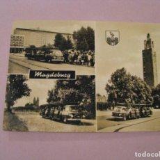 Postales: POSTAL DE ALEMANIA ESTE, DRA, DDR. MAGDEBURG. ED. GARLOFF. CIRCULADA. 1971.. Lote 245299200
