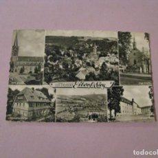 Postales: POSTAL DE ALEMANIA. LUFTKURORT EITORF SIEG. CIRCULADA 1963.. Lote 245302590