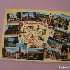 Postales: POSTAL DE ALEMANIA. O, DU SCHONER WESTERWALD. CIRCULADA 1971.. Lote 245302780