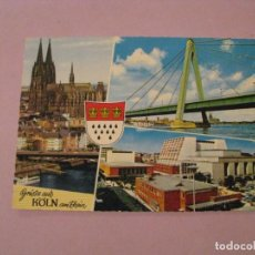 Postales: POSTAL DE ALEMANIA. KÖLN, COLONIA.. Lote 245302935