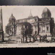 Postales: POSTAL DE. ROMA PIRANESI. BASÍLICA DI S. MARÍA MAGGIORE. Lote 245378470