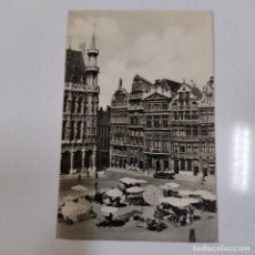 Postales: POSTAL BRUXELLES GRAND PLACE (1124/21). Lote 245397915