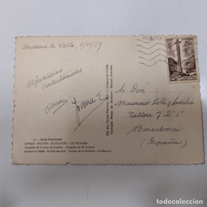 Postales: POSTAL ANDORRA LES ESCALDES (1125/21) - Foto 2 - 245398140