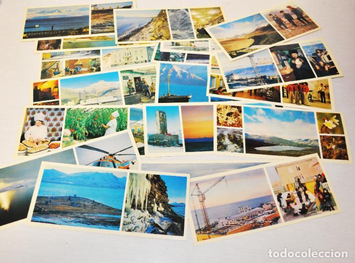 Postales: Lote 18 postales En Tiera Svalbard.Moscu 1978 a.URSS - Foto 3 - 245468755