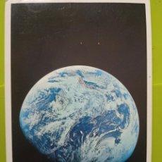 Postales: EARTH SEEN FROM APOLO VIII DEC 1968 NASA TIERRA DESDE LUNA SC SWEDEN. Lote 245469695