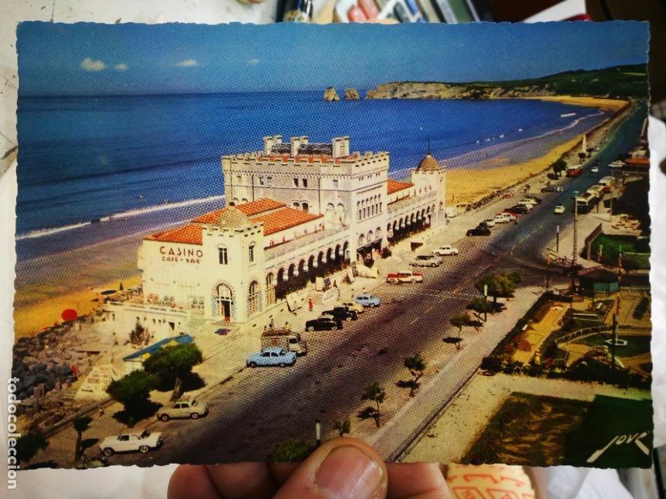 POSTAL HENDAYA LE CASINO LA PLACE ET LES DEUX JUMEAUX S/C (Postales - Postales Extranjero - Europa)