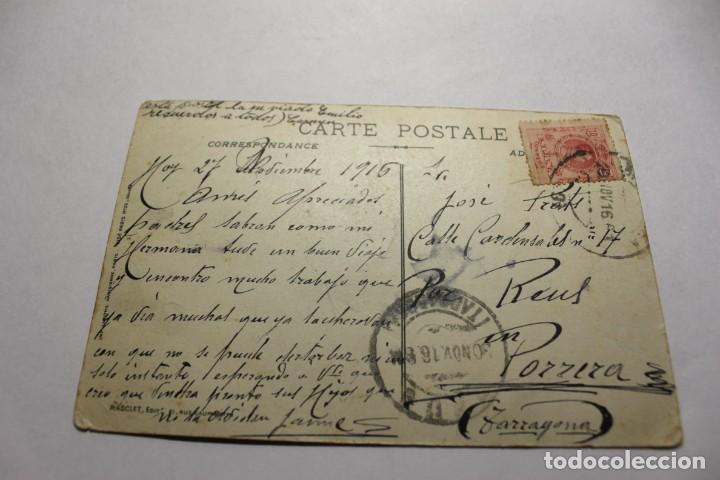 Postales: CPA. MILITAIRE PATRIOTIQUE. SOUVENIR DES JOURNEES FRANCAISES 1915 - Foto 2 - 245987185
