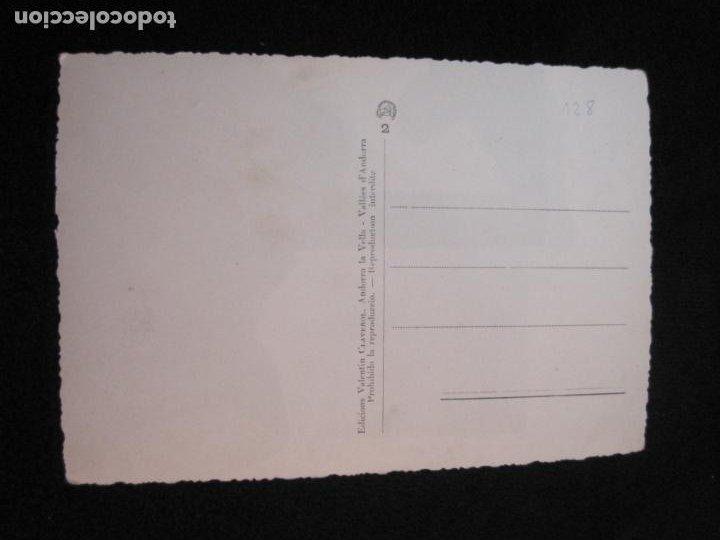 Postales: ANDORRA-INTERIOR DE EMISORA RADIO ANDORRA-V. CLAVEROL FOTOGRAFICA-POSTAL ANTIGUA-(78.092) - Foto 2 - 245994700