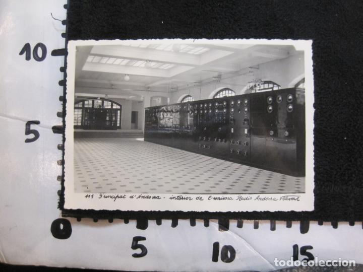 Postales: ANDORRA-INTERIOR DE EMISORA RADIO ANDORRA-V. CLAVEROL FOTOGRAFICA-POSTAL ANTIGUA-(78.092) - Foto 3 - 245994700