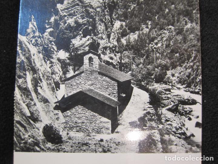 Postales: ANDORRA-ERMITA DE SANT ANTONI-CIRCULADA-POSTAL ANTIGUA-(78.093) - Foto 3 - 245994830