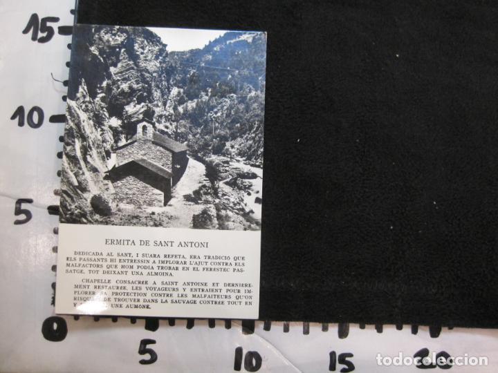 Postales: ANDORRA-ERMITA DE SANT ANTONI-CIRCULADA-POSTAL ANTIGUA-(78.093) - Foto 6 - 245994830