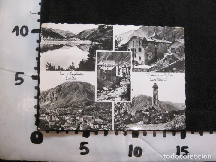 Postales: ANDORRA-LAC DENGOLASTERS-SAINT MICHEL-APA-CIRCULADA-POSTAL ANTIGUA-(78.095) - Foto 3 - 245995140