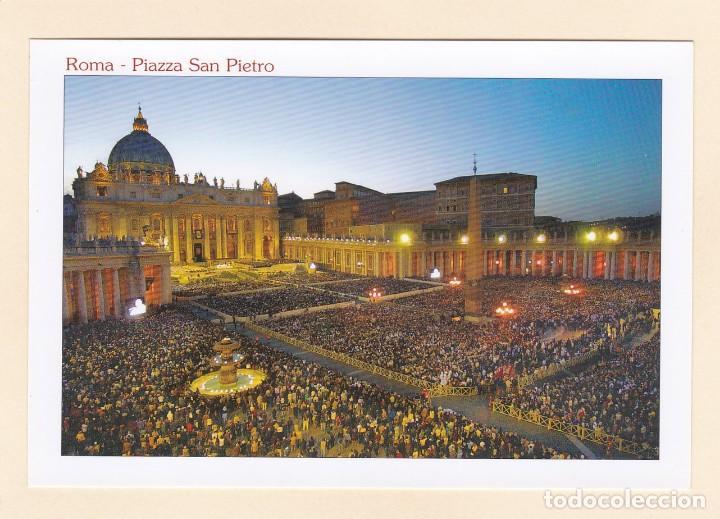POSTAL PLAZA DE SAN PEDRO. ROMA (ITALIA) (Postales - Postales Extranjero - Europa)