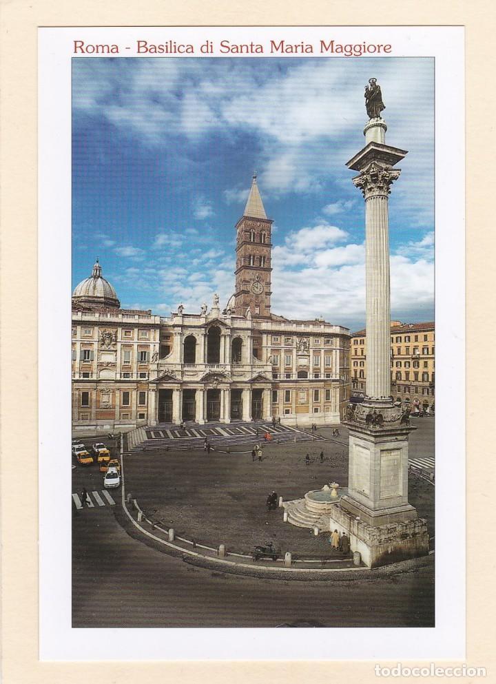 POSTAL BASILICA DI SANTA MARIA MAGGIORE. ROMA (ITALIA) (Postales - Postales Extranjero - Europa)