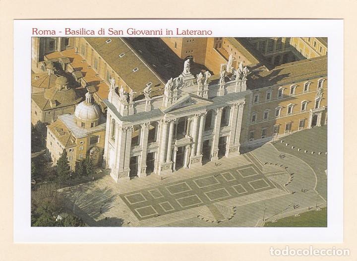 POSTAL BASILICA DI SAN GIOVANNI IN LATERANO. ROMA (ITALIA) (Postales - Postales Extranjero - Europa)