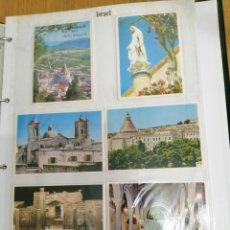 Postales: ANTIGUO ALBUM CON 80 POSTALES. Lote 246060625