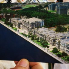 Postales: POSTAL ANKARA SWISSOTEL STANDING BEHIND THE DOLMABAHCE PALACE S/C. Lote 246095985