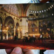 Postales: POSTAL TURQUÍA ISTANBUL SULEYMANIYE CAMÍ ICI 1557 S/C. Lote 246097195