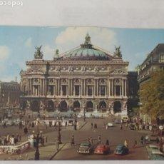 Postales: PARIS 1960 - PLACE DE L´OPÉRA - YVON - CIRCULADA. Lote 246105650