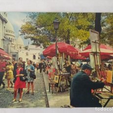 Postales: PARIS 1977 - MONTMARTRE LA PLACE DU TERTRE - CHANTAL Nº 464 - CIRCULADA. Lote 246105925