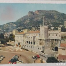 Postales: MONACO 1965 - VUE D´ENSEMBLE DU PALAIS PRINCIER - CIRCULADA. Lote 246108305