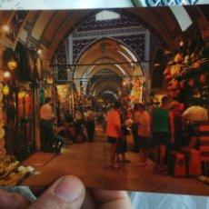 Postales: POSTAL TURQUÍA ISTANBUL KAPALI CARSI MUNI GORUMUS GRANDE BAZAR S/C. Lote 246108620