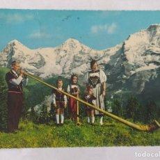 Postales: BERNER 1968 - OBERLAND - CIRCULADA. Lote 246109250