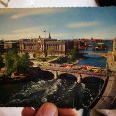 Postales: POSTAL ESTOCOLMO NORRSTEOM MED RIKSDAGSHUSET S/C. Lote 246143350