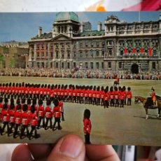 Postales: POSTAL LONDON TROOPING THE COLOR AT HORSEGUARDS PARADE S/C. Lote 246146785