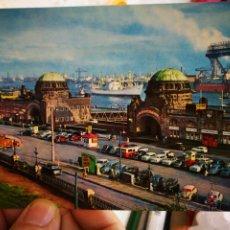 Postales: POSTAL HAMBURGO ST PAULI LANDUNGSBRUCKEN S/C. Lote 246147885