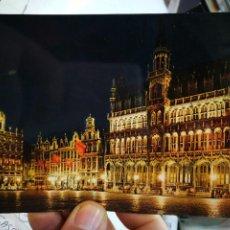 Postales: POSTAL BRUSELAS GRANDE PLACE MAISONS DU ROI ROI D'ESPAGNE S/C. Lote 246154295